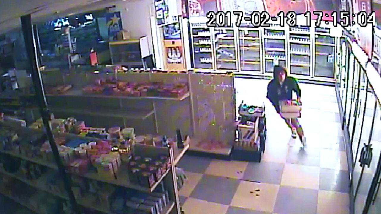 Wayne County officials search for robbery suspect