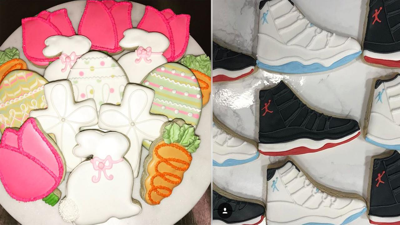 Southern Sugar Bakery customized cookies