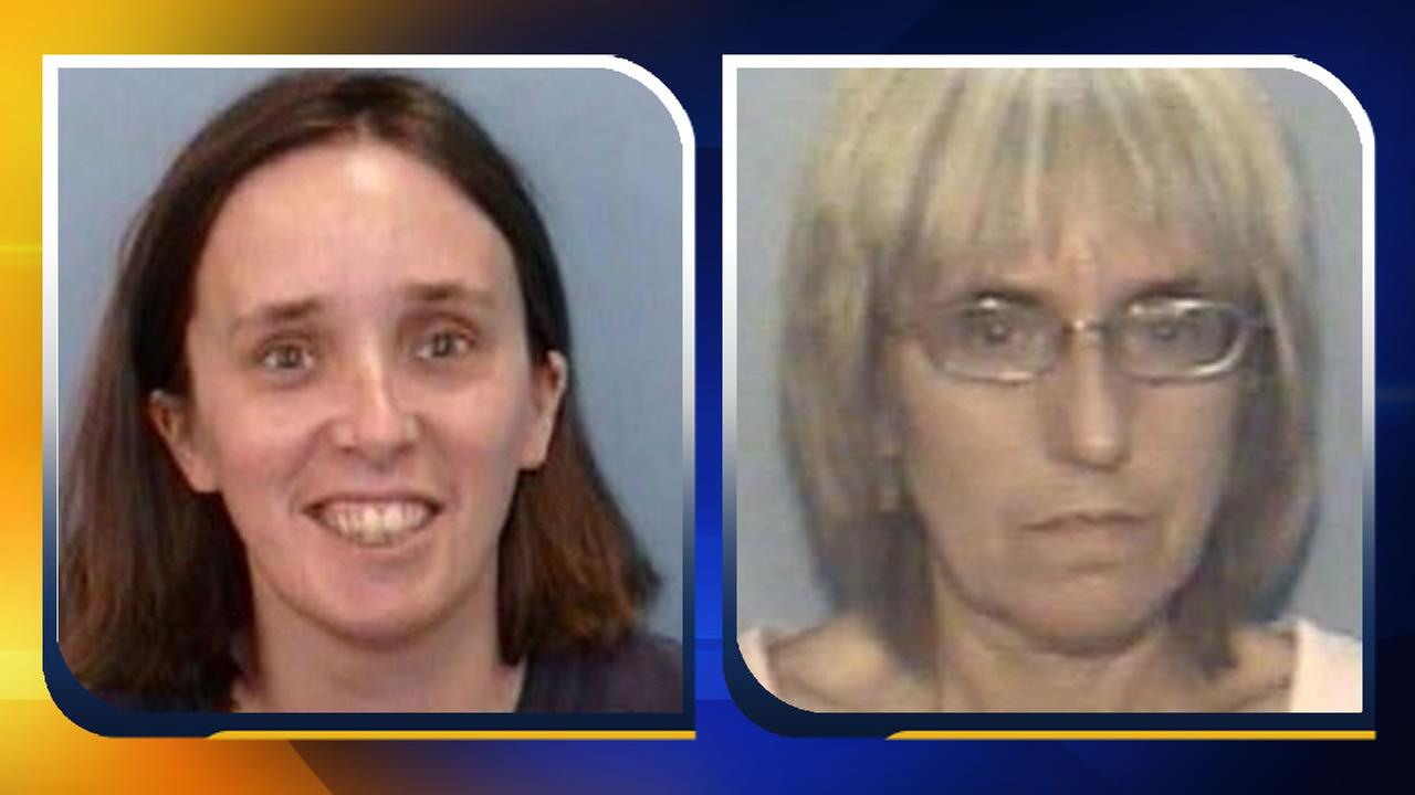 Tiffany Cartwright and Eva Jo Jones (images courtesy Wilmington Police Department)