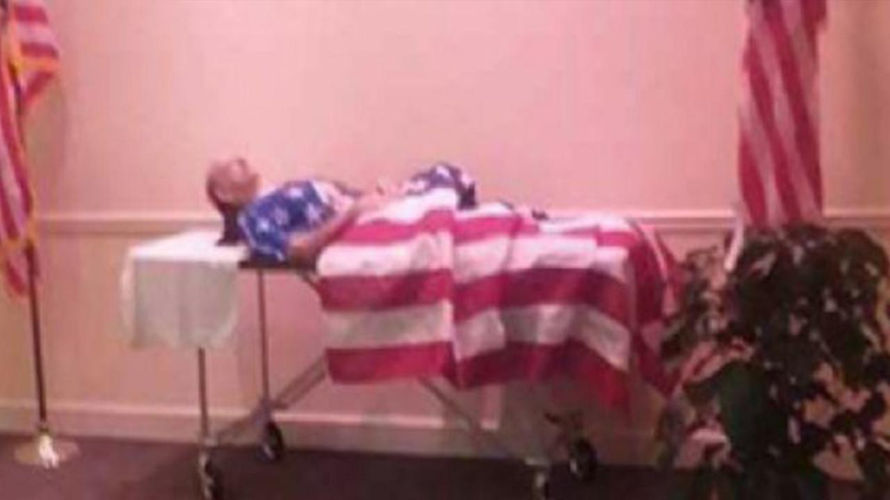 A dispute over a Georgia veterans funeral has gotten the attention of thousands on social media.