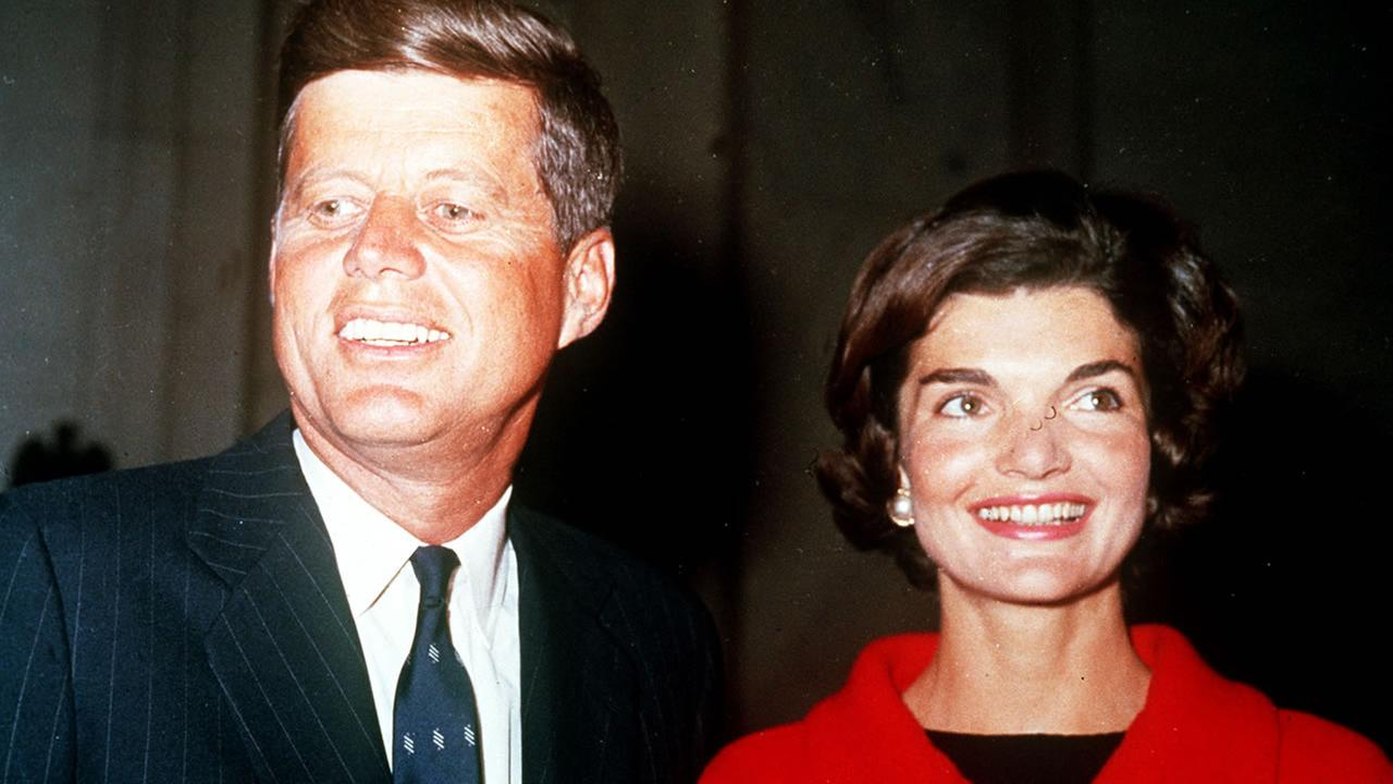 President Kennedy and wife Jackie (AP photo)