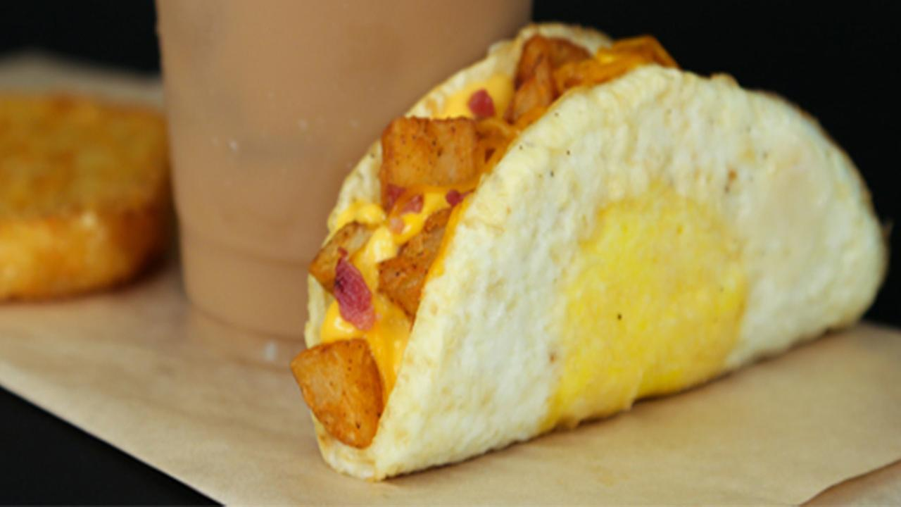 Taco Bell turns breakfast inside out with Naked Egg Taco