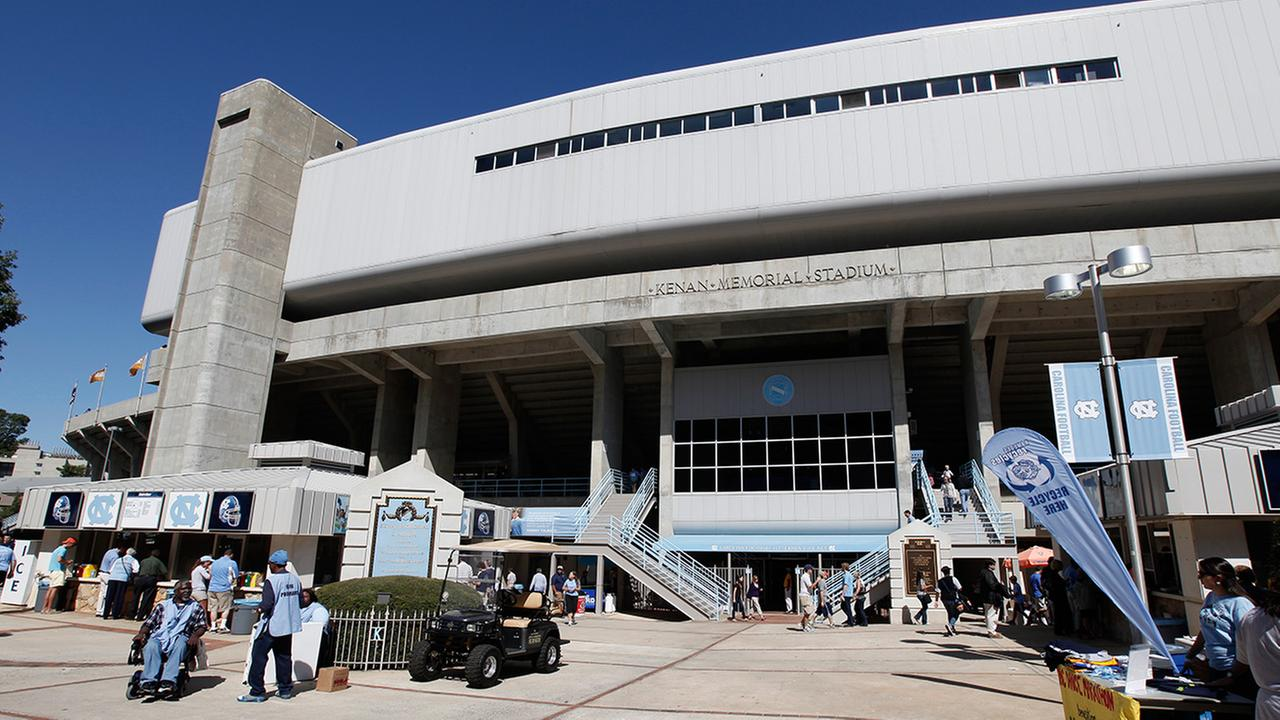 North Carolinas Kenan Stadium is shown in Chapel Hill, N.C., Saturday, Oct. 8, 2011