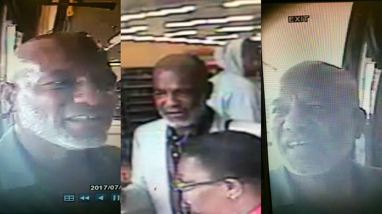 Surveillance images of the Fayetteville theft suspect.