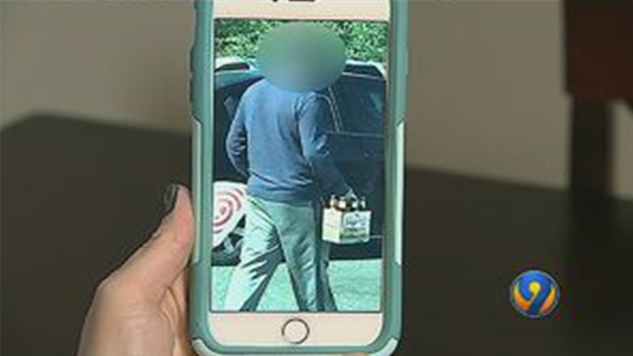 An unidentified woman believes this man exposed himself to her in a Target dressing room