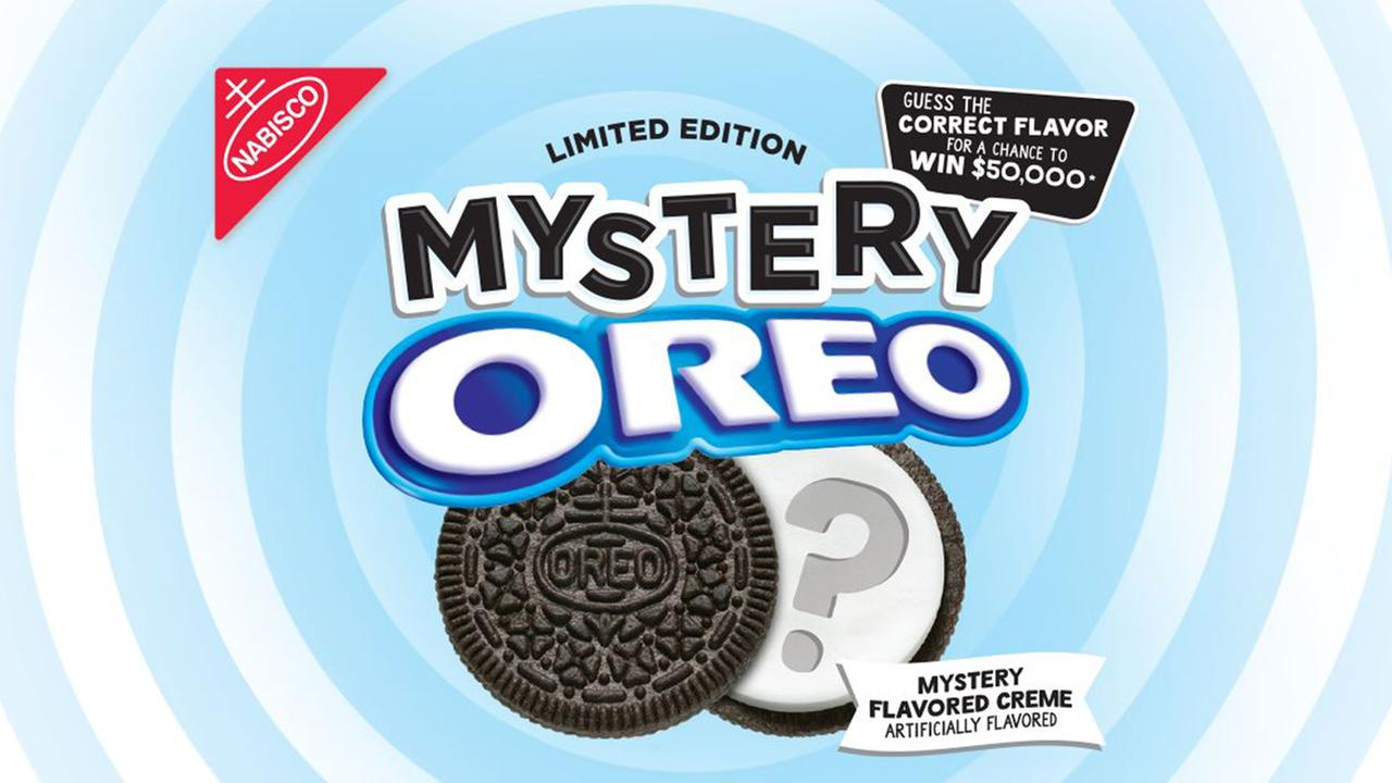 Oreo offering $50K to guess their new mystery flavor