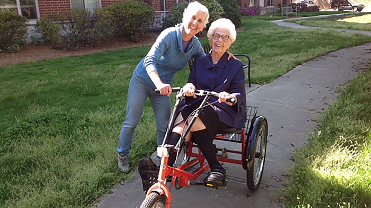 Horowitz, 85, told ABC11 the trike was the last gift she received from her late husband, Gerry. They were married for 62 years.