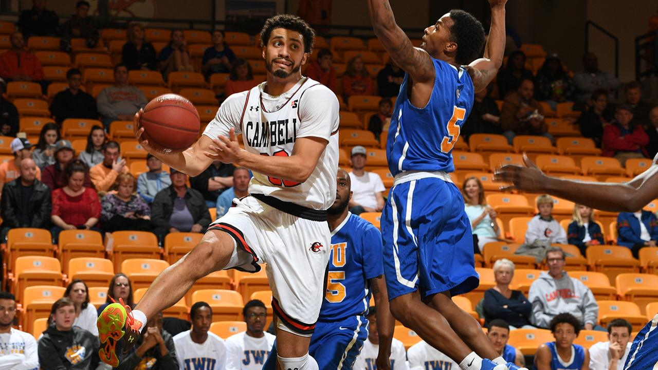 Shane Whitfield had six points and five rebounds for the Camels.