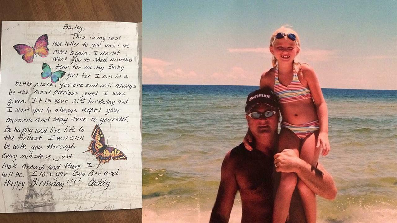 Tennessee woman receives last birthday gift from deceased father