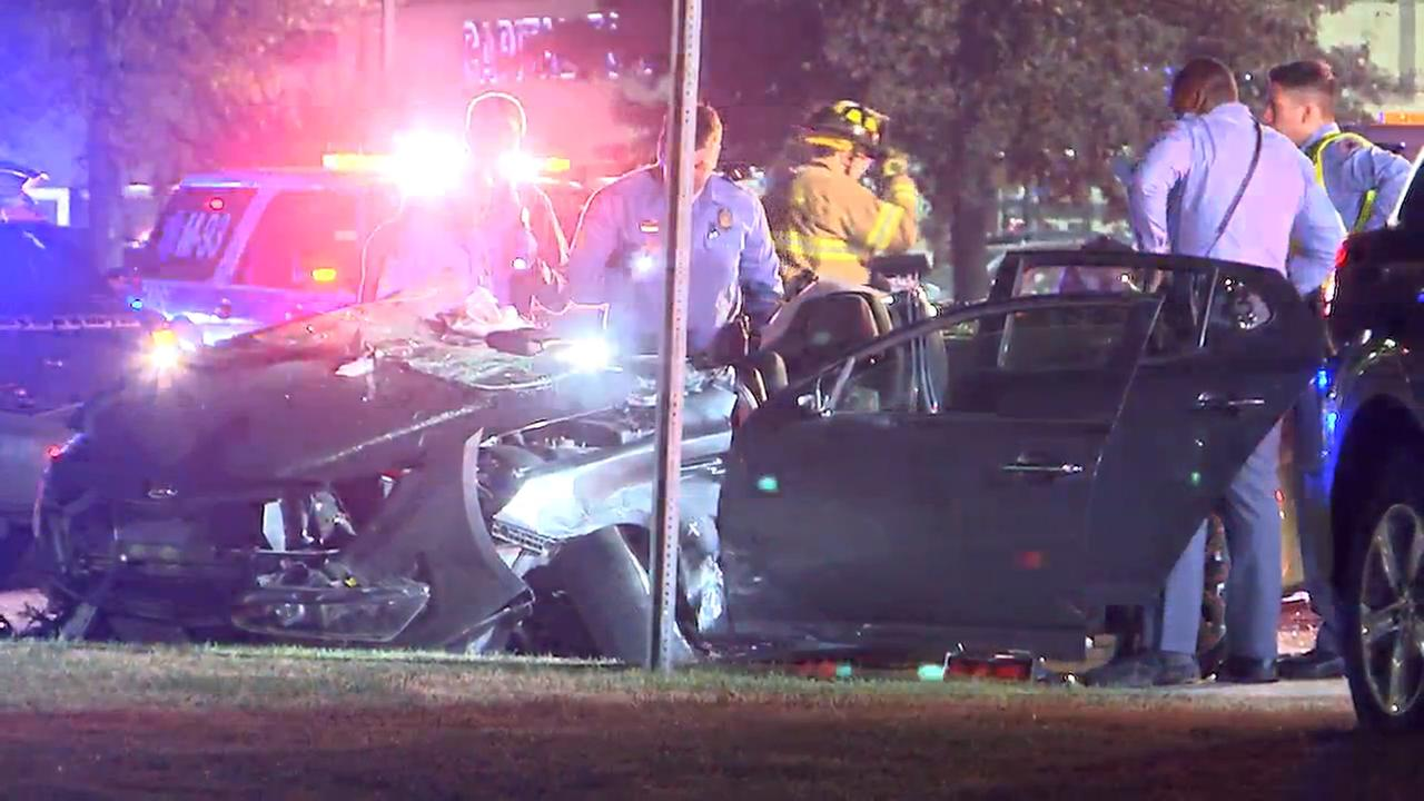 Raleigh police and fire respond to a serious crash at Capital Boulevard and Spring Forest Road.
