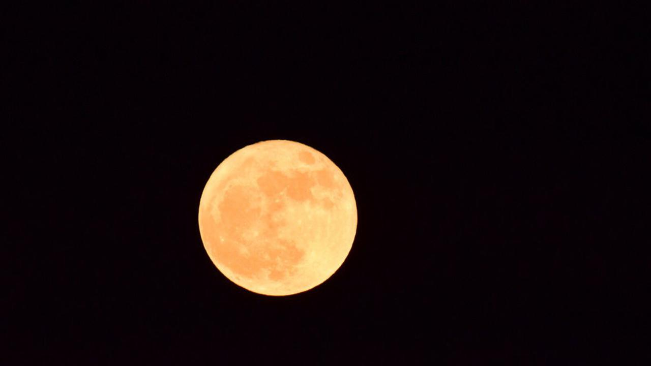 First and only supermoon of 2017