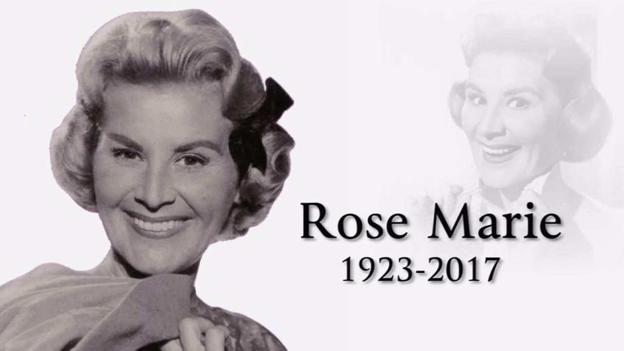 Actress Rose Marie, whose career spanned nine decades, dies at 94