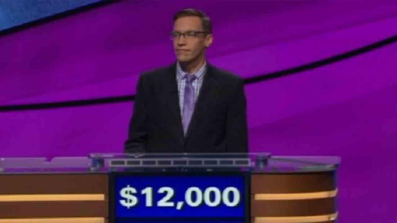 Nick Spicher after Jeopardy! deducted his winnings