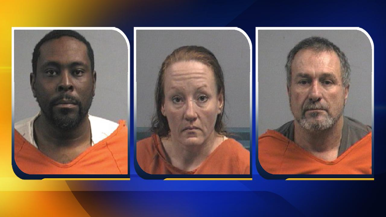 3 charged after stealing over 100K worth of NCDOT property