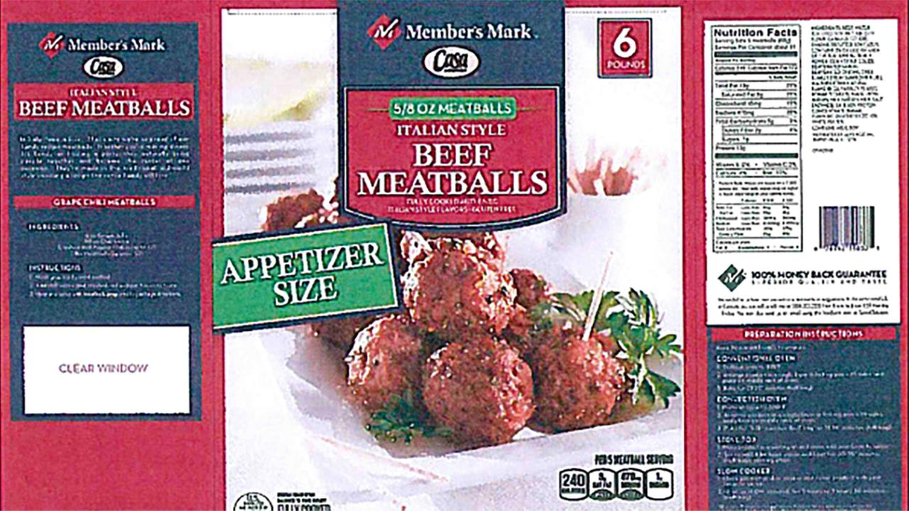 Dont eat these meatballs.