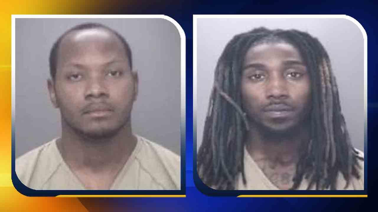 Jeramie Ross Vaughn and Rashad Donavan Young (from left to right)