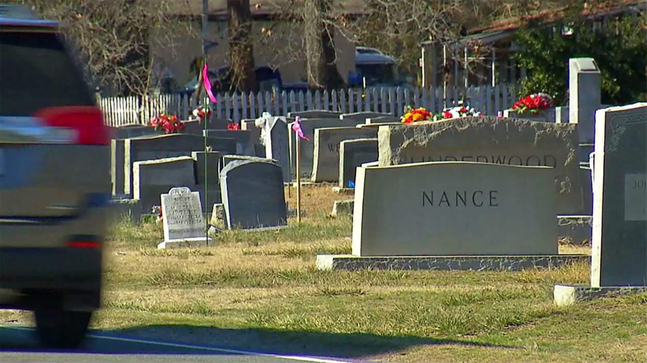 The NCDOT project to expand NC 42 will relocate hundreds of graves in a nearby cemetery.