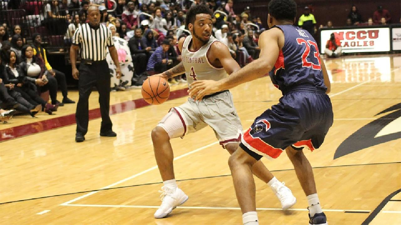 Jordan Perkins led NC Central with 13 points and 14 assists on Monday against Howard.