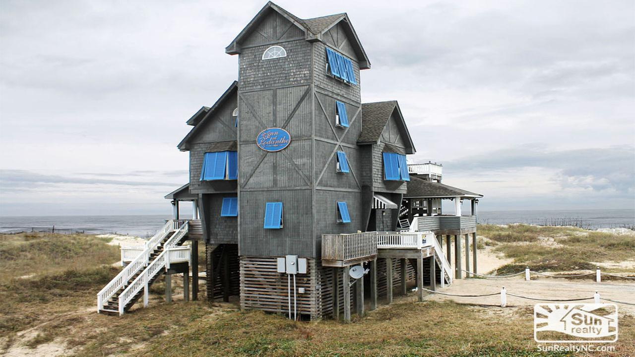 The famous Nights in Rodanthe house is up for sale