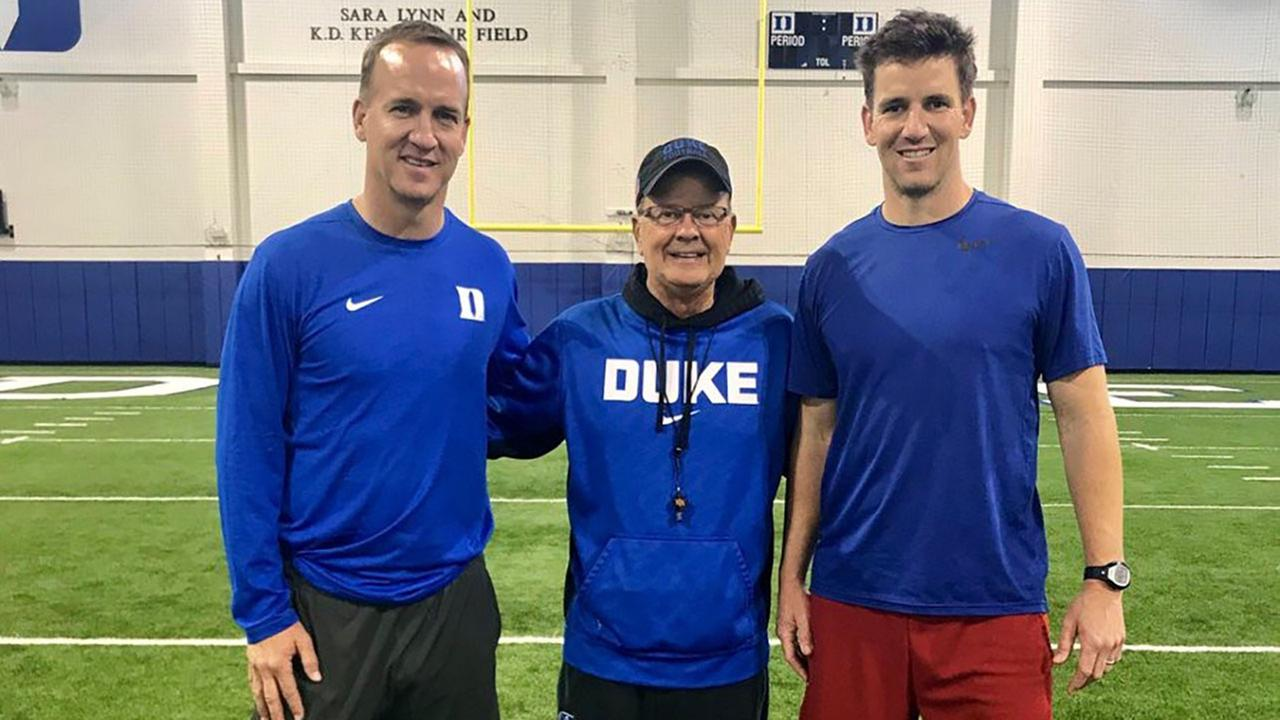 Mannings visit Duke