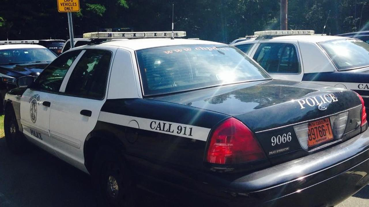 Chapel Hill police cars