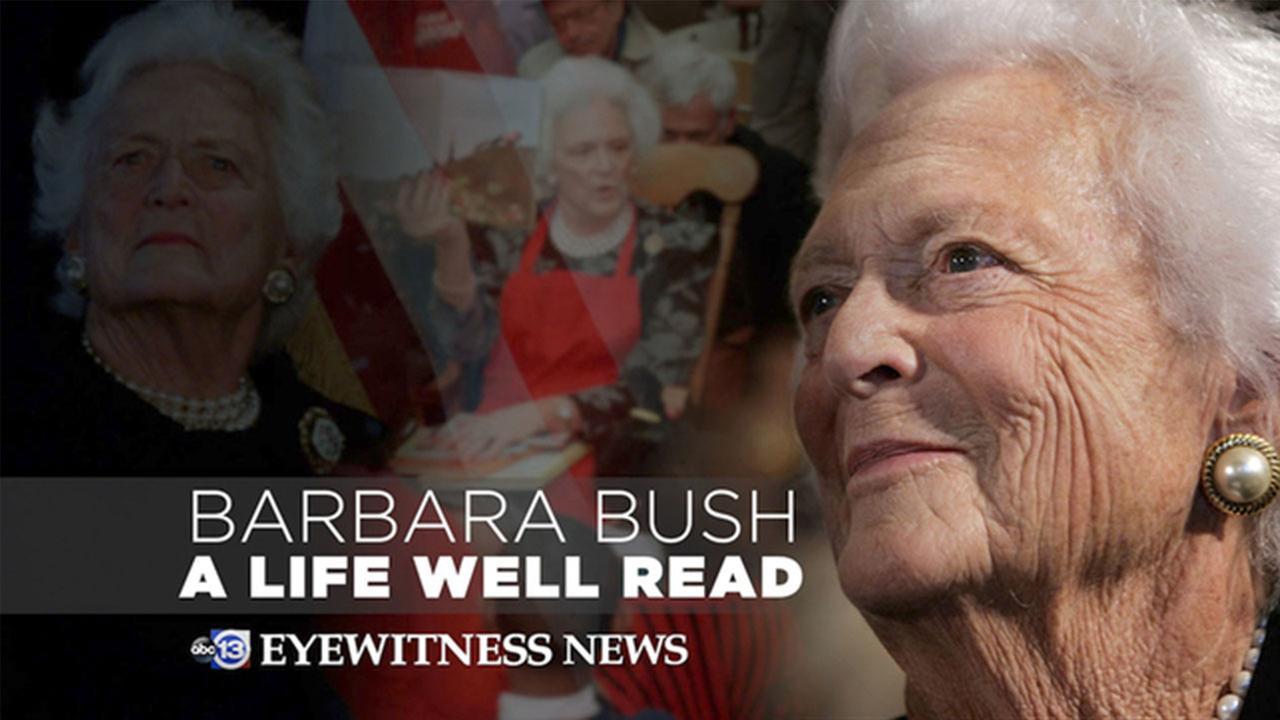 Barbara Bush: An interactive experience