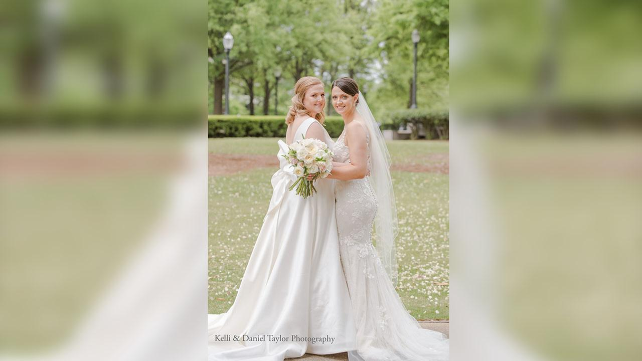 Deidre and Abbott tied the knot on April 14
