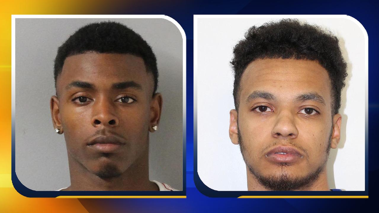 Demarco Churchwell, left, was fatally shot. Justin Golson, right, is in custody.