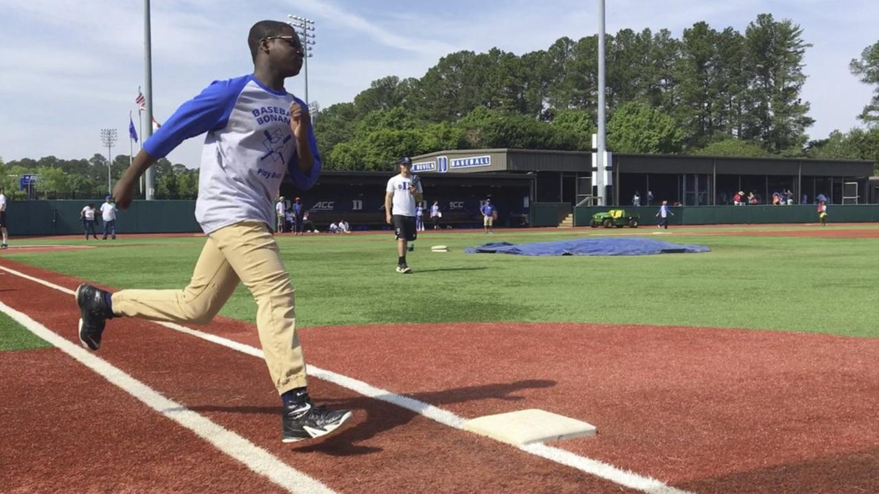Duke baseball hosts clinic for kids and teens with Autism