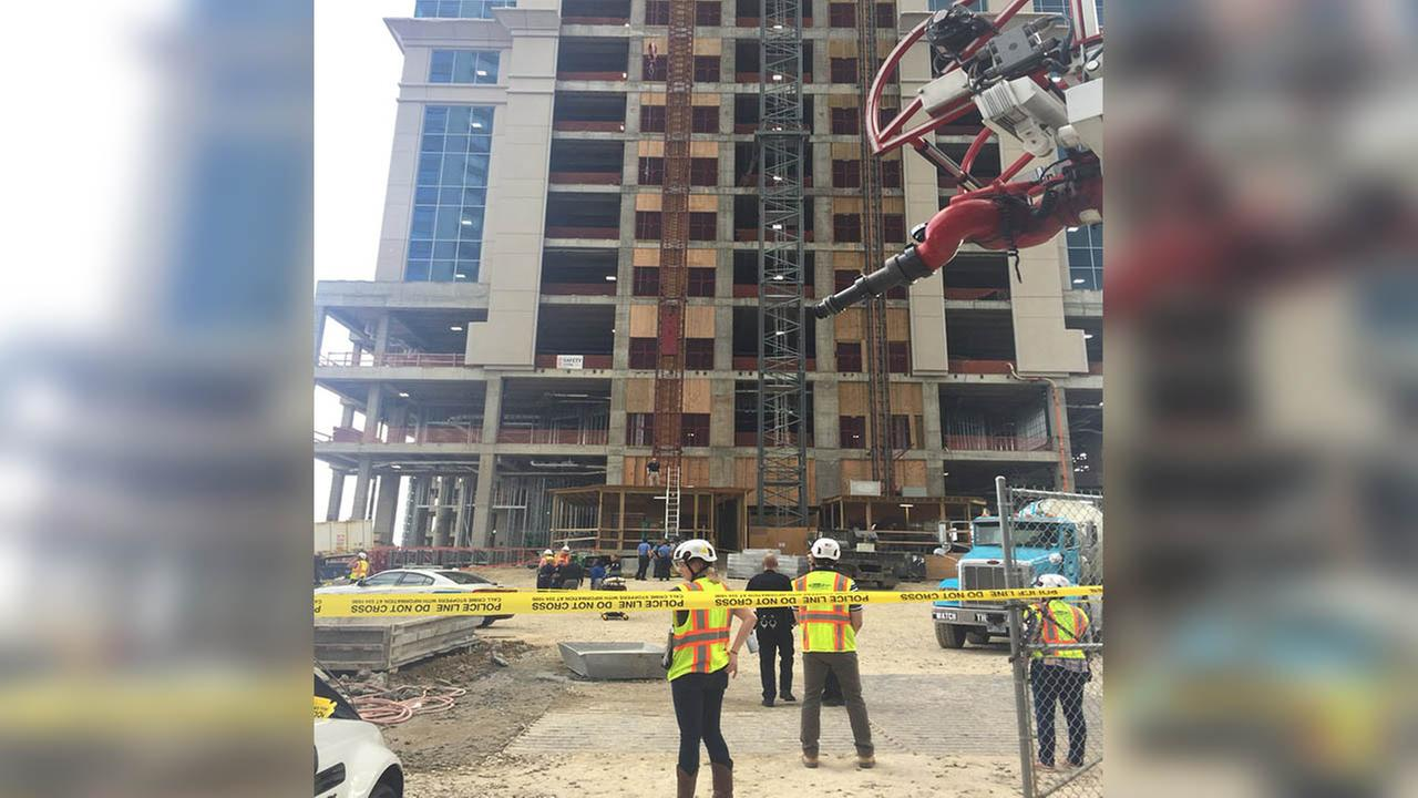 Construction worker falls to death in North Carolina city