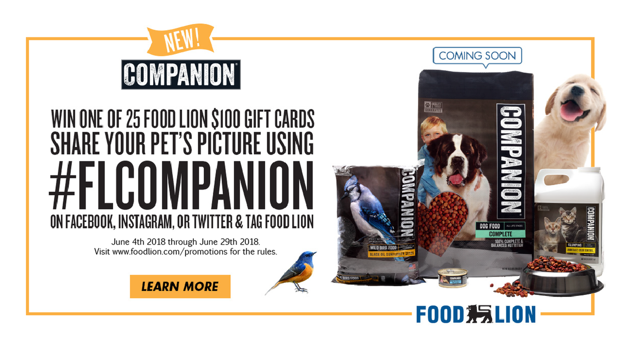 Companion Brand Pet Food Contest
