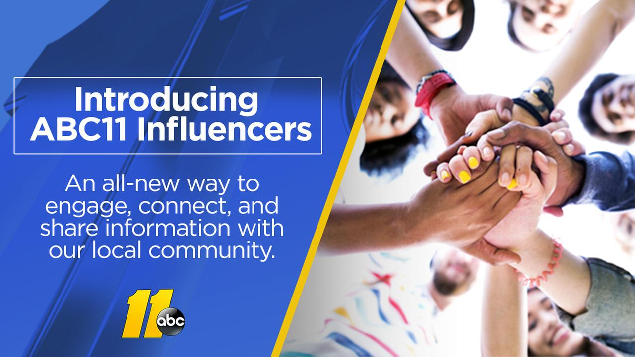 Meet the ABC11 Influencers