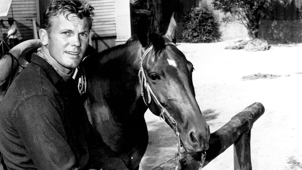 This April 3, 1967 file photo shows actor Tab Hunter.
