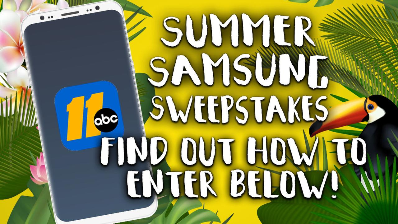 HOW TO ENTER: Samsung sweepstakes