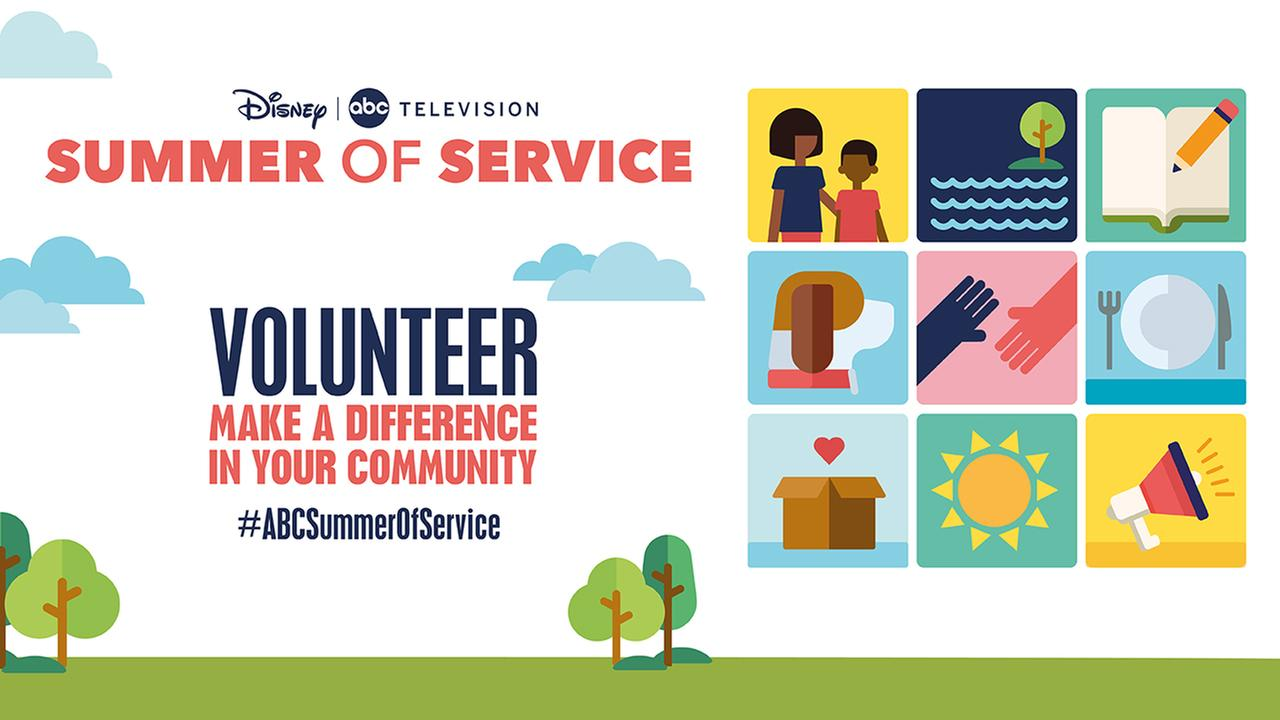 Summer of Service: Showcase your good deeds