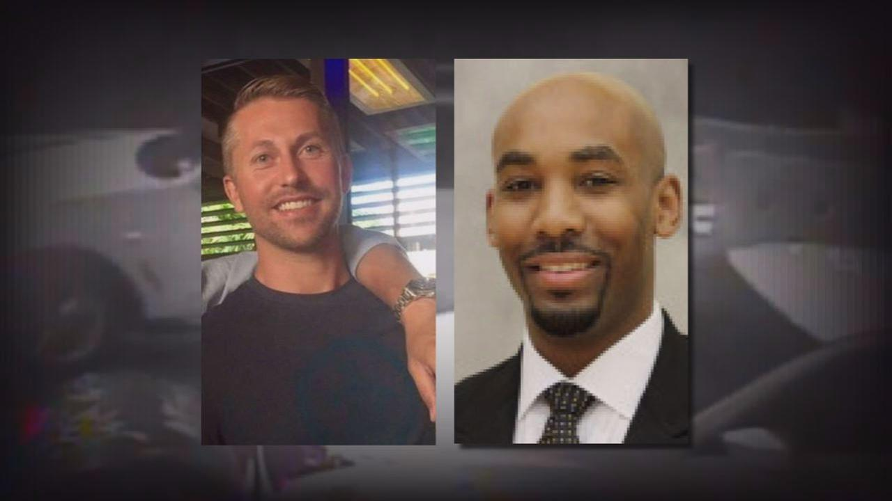 Sandor Szabo, left, died from injuries after he was allegedly punched by Wake Forest assistant coach Jamill Jones.