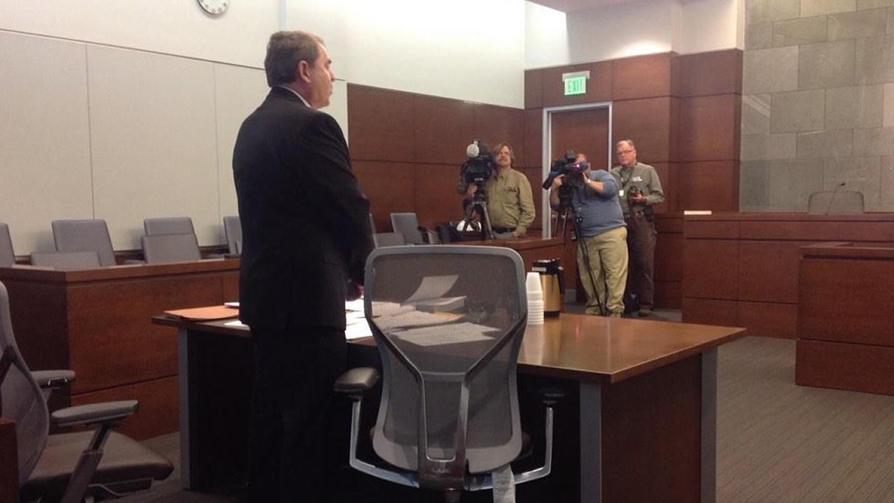 A hearing before Judge Orlando Hudson in Durham Friday (WTVD photo/Tamara Gibbs)