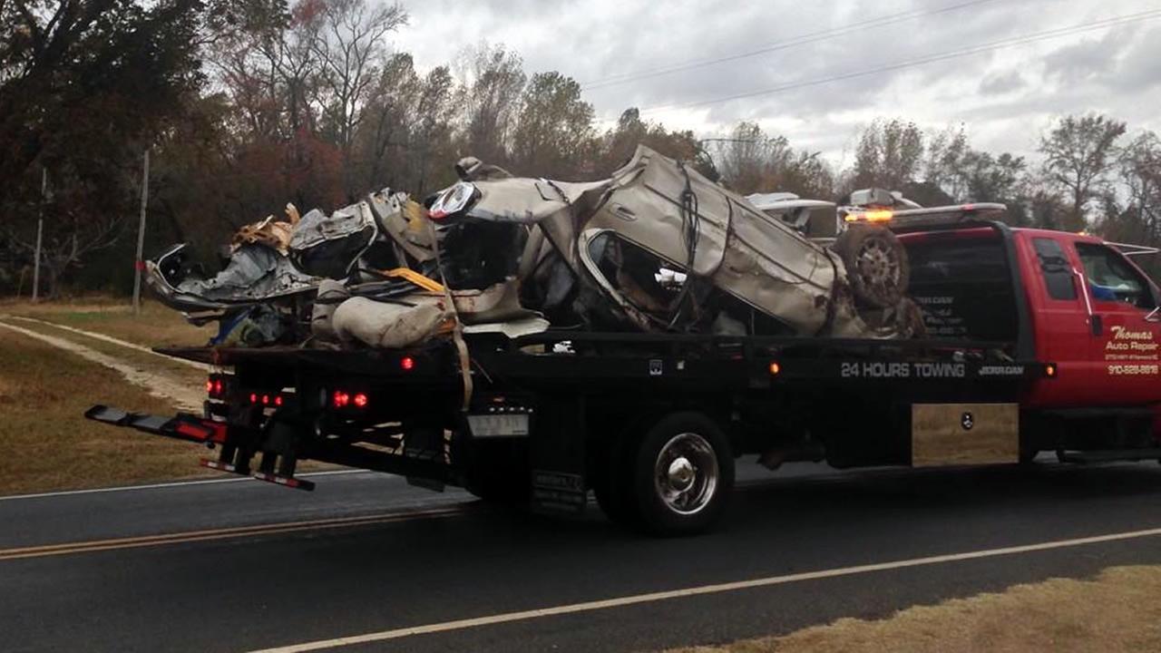 Robeson County crash