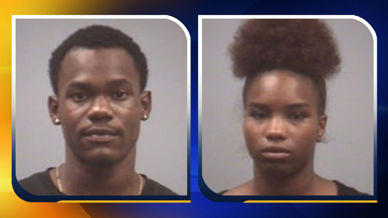 Tyrone Frederick Pegues, left, and Ashley Nicole Murchison