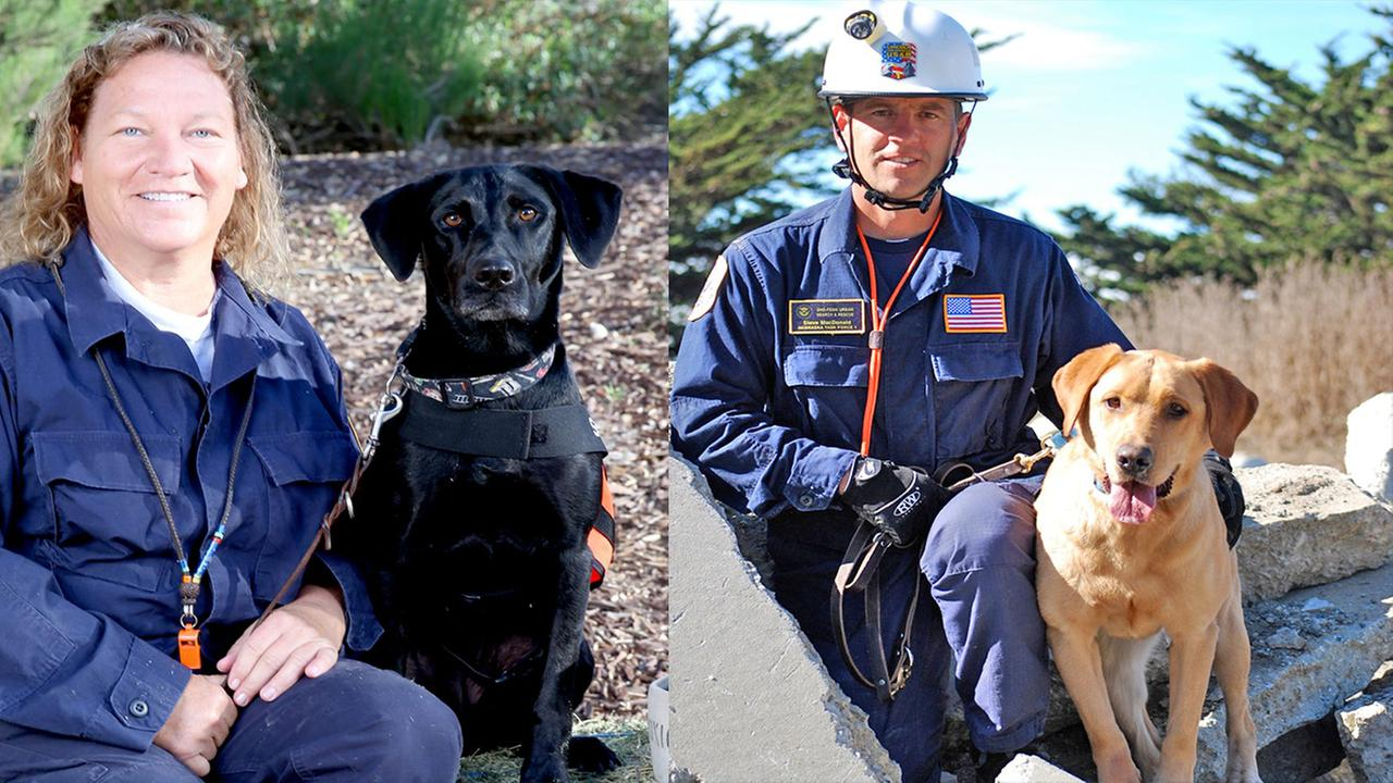 The National Disaster Search Dog Foundation has been sent to the North Carolina coast to help with Hurricane Florence rescue efforts.