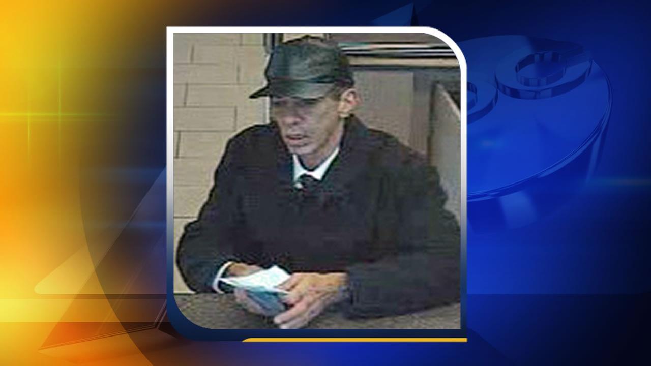 Wells Fargo robbery suspect in Raleigh