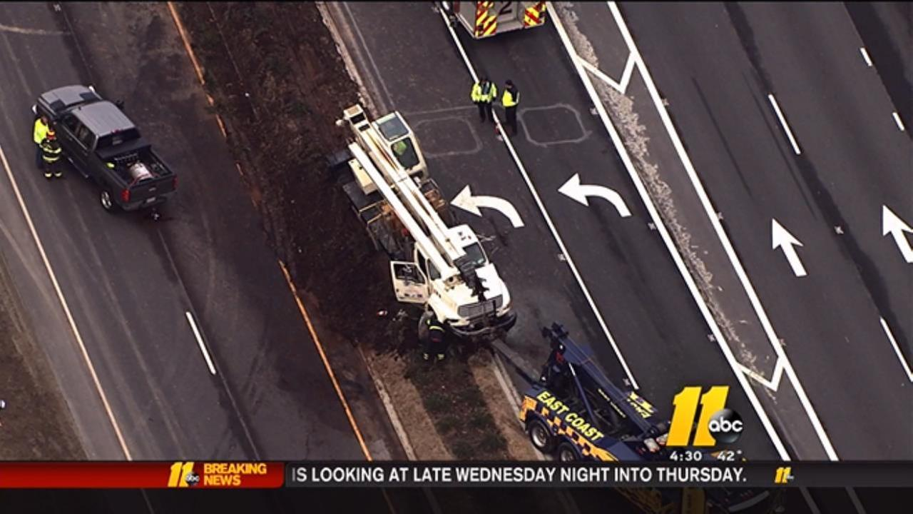 Holly Springs truck crash
