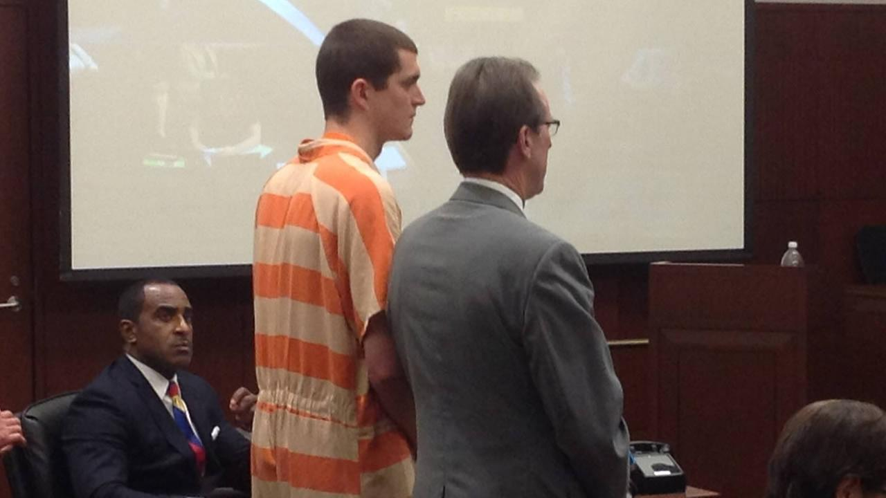 Daniel Joseph Steele  makes his first court appearance.
