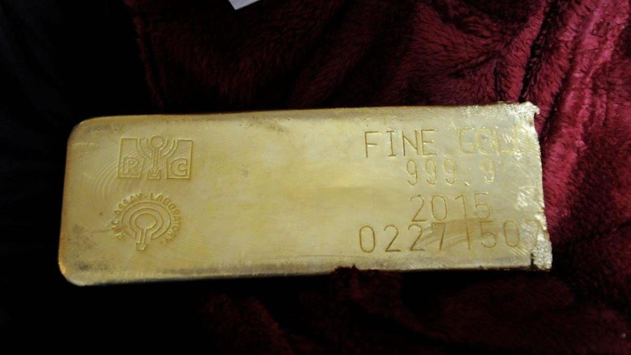 Stolen gold bar found in Florida