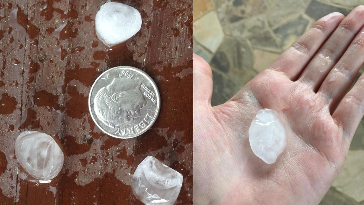 Hail pictures