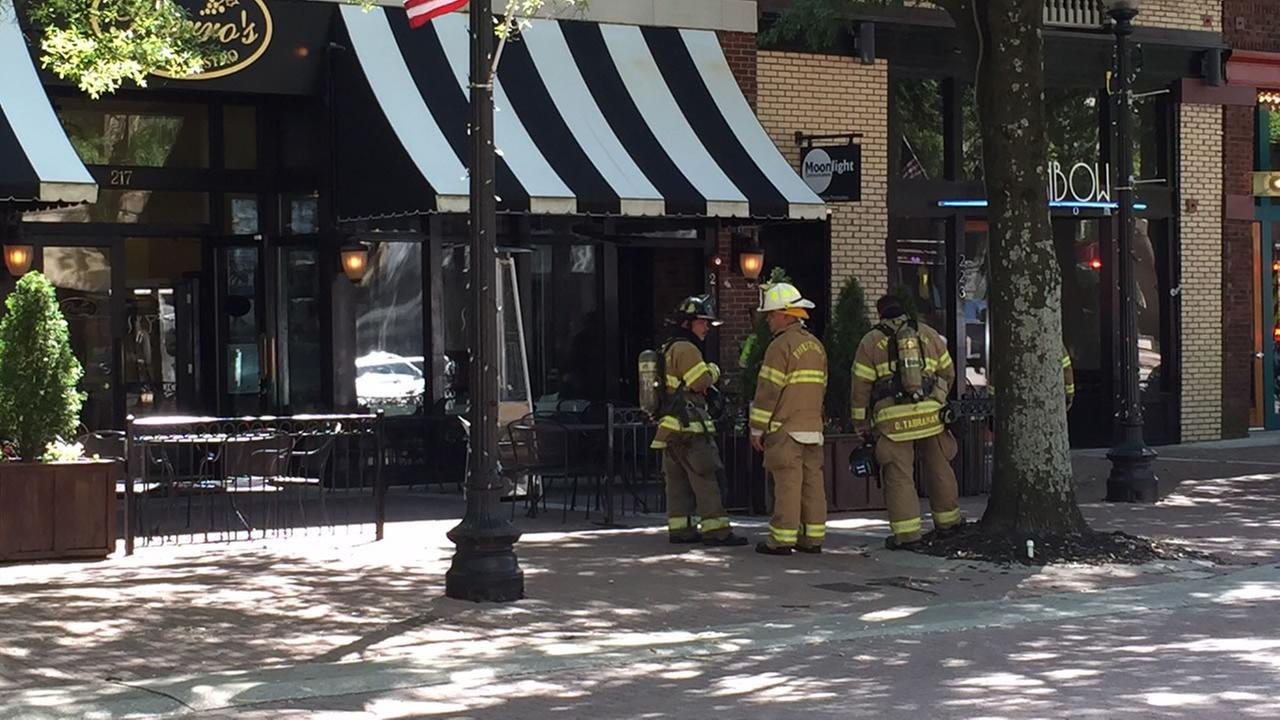 Pierros Restaurant on Hay Street in Fayetteville was evacuated as a precaution after a report of a possible gas leak.