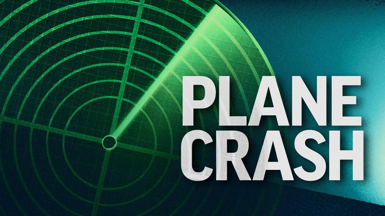 Generic plane crash graphic