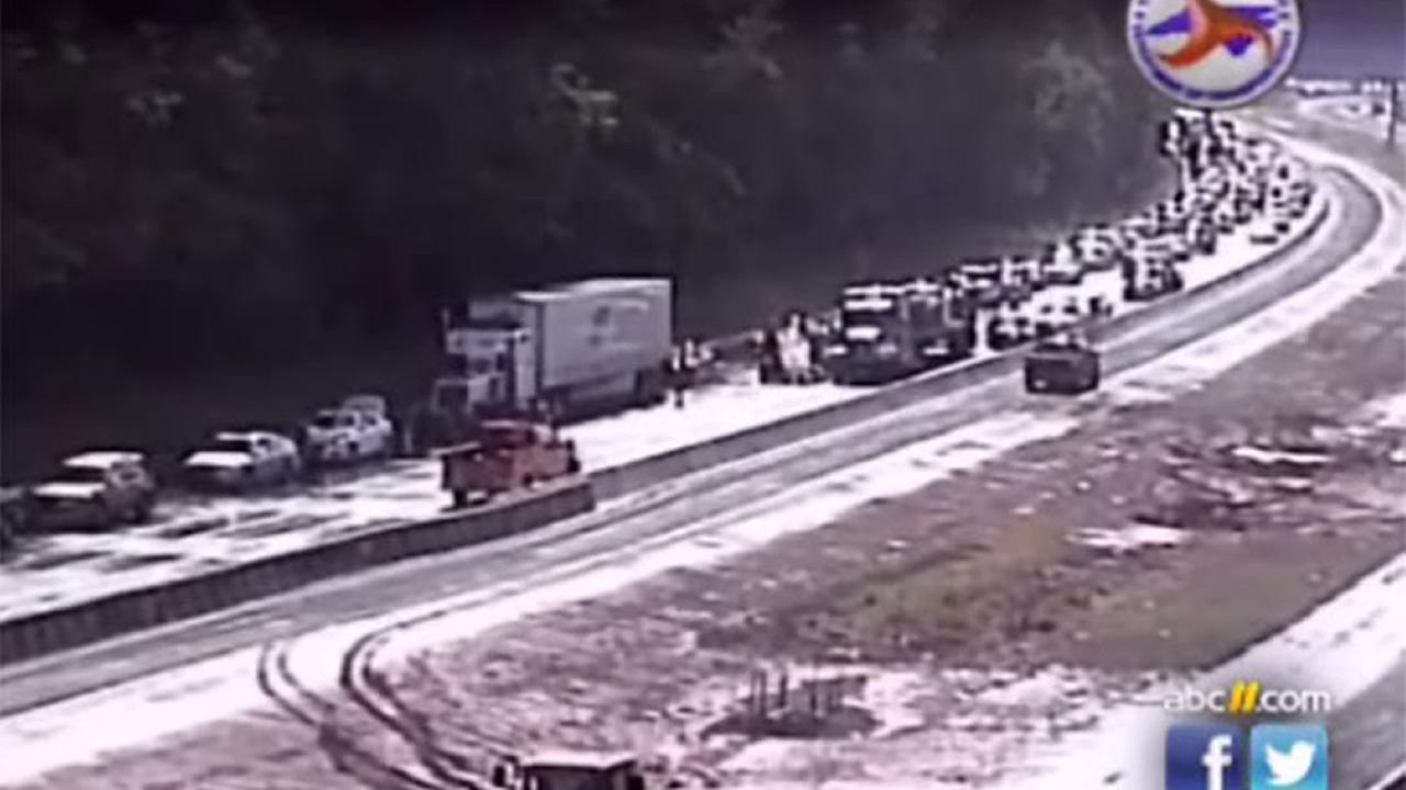 Raleigh crash on Interstate 40