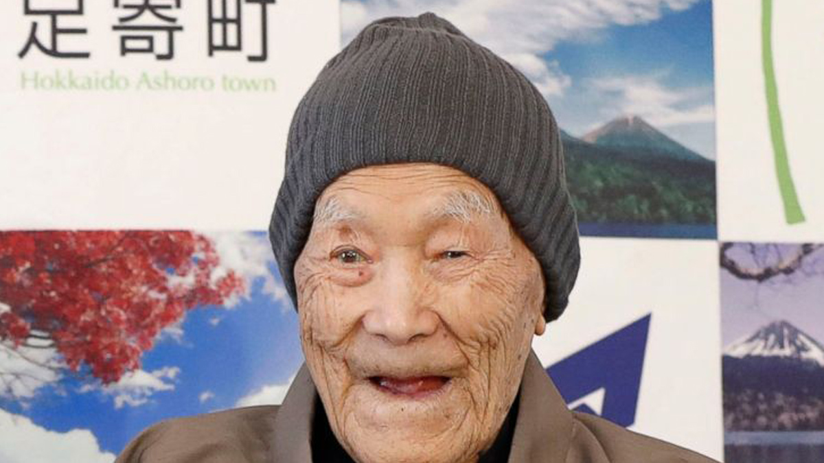 The Worlds Oldest Man Masazo Nonaka died Jan. 20, 2019 at the age of 113 (Photo Source: ABC News)