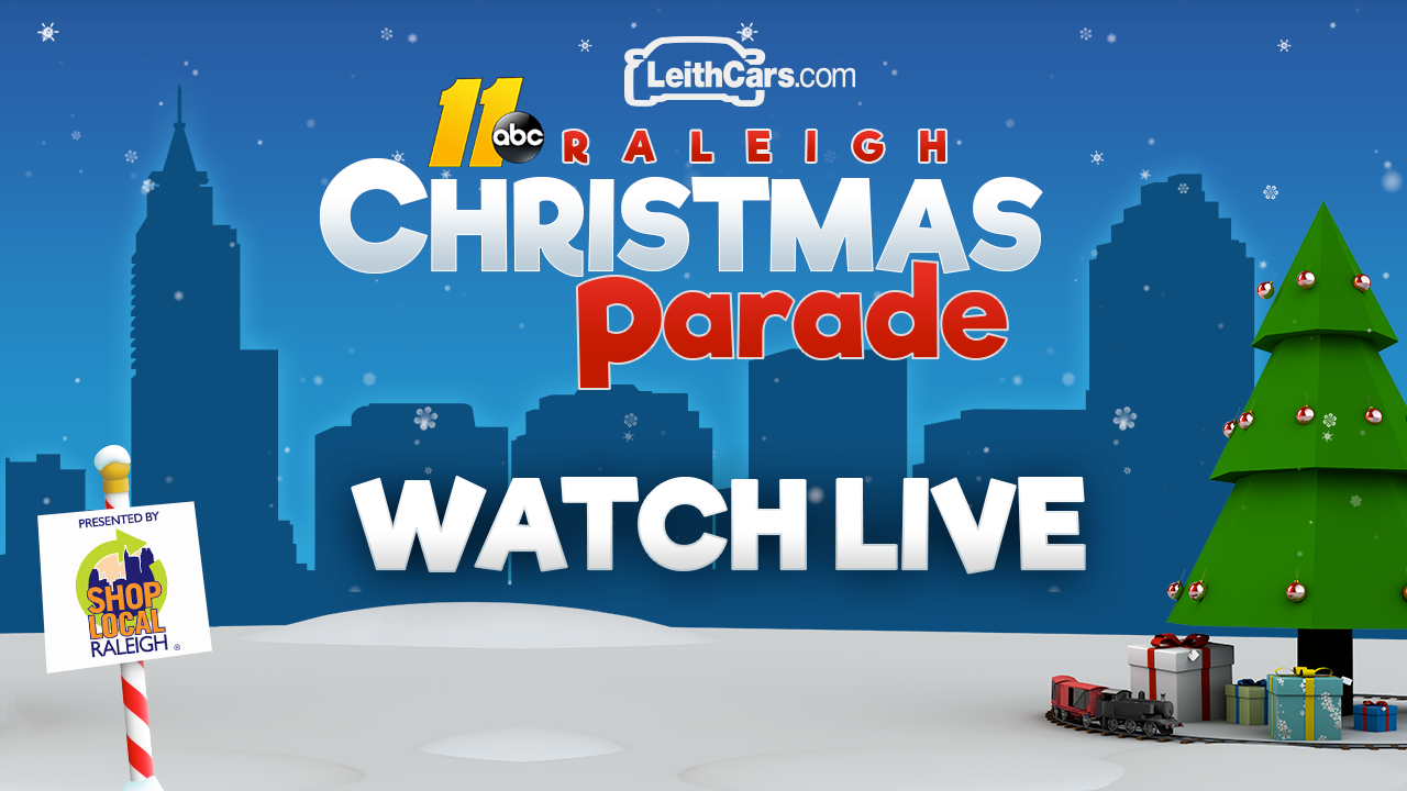 How to watch the ABC11/LeithCars.com Raleigh Christmas Parade presented by Shop Local Raleigh